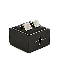 J by Jasper Conran - Silver square cufflinks