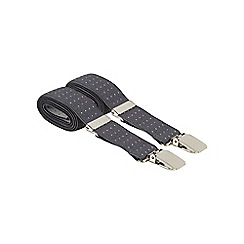 Osborne - Grey slim pinspot braces