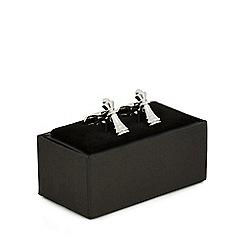 The Collection - Silver chess piece cufflinks