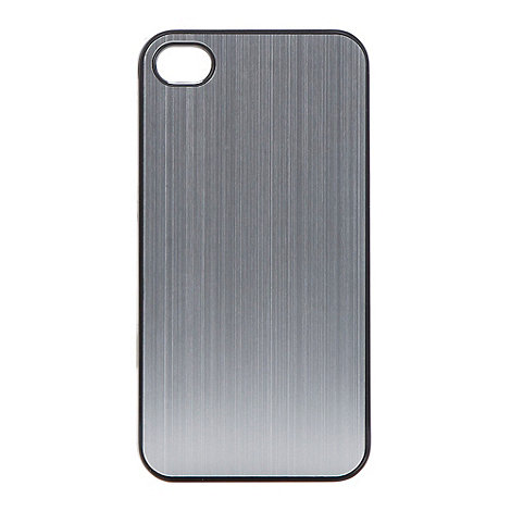 Skinnydip - Silver metallic iPhone 4/4s case