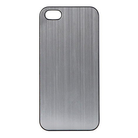 Skinnydip - Silver metallic iPhone 5 case