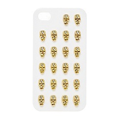 Skinnydip - Gold skull studded iPhone 4/4s case