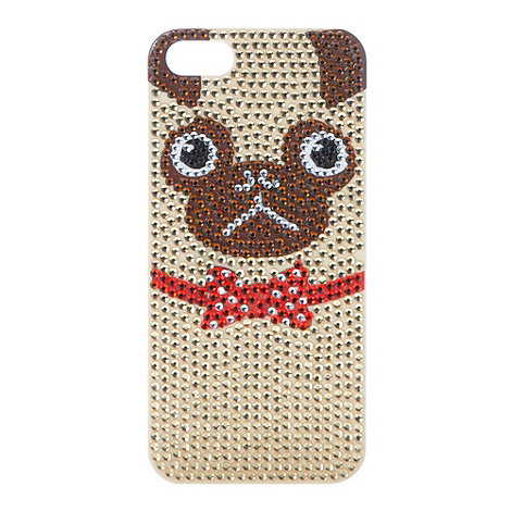 Skinnydip - Bling pug iPhone case for 5/5s