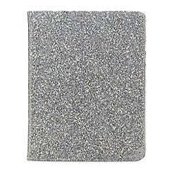 Skinnydip - Silver glitter iPad 2 &3 case