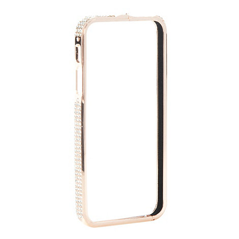 Skinnydip - Rose gold bling sided iPhone case for 5/5s