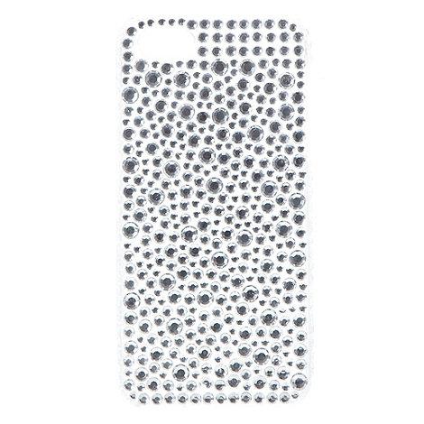 Skinnydip - Silver Rhinestone iPhone 5/5s case