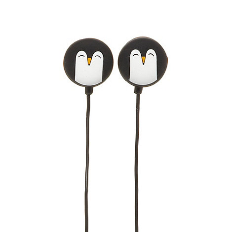 Skinnydip - Black Penguin rock earphones