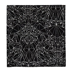 Hammond & Co. by Patrick Grant - Grey printed pocket square