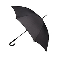 Fulton - Black cross printed umbrella