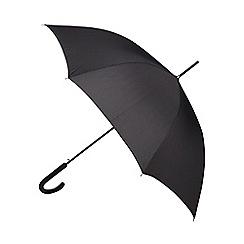 Fulton - Black cross printed umbrella