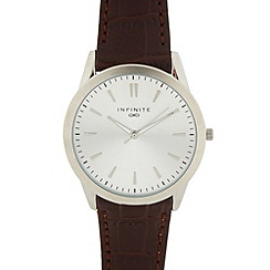 Infinite - Men's brown oversize watch