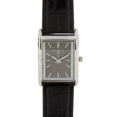 Infinite Men´s black rectangle dial watch - . -
