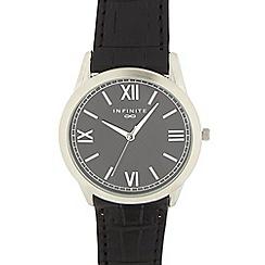 Infinite - Men's black Roman dial watch