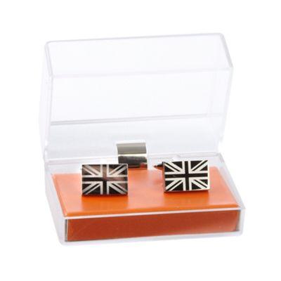 Red Herring Grey Union Jack cufflinks