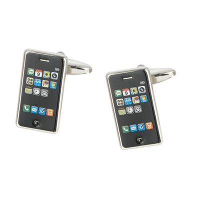 Black iPod cufflinks