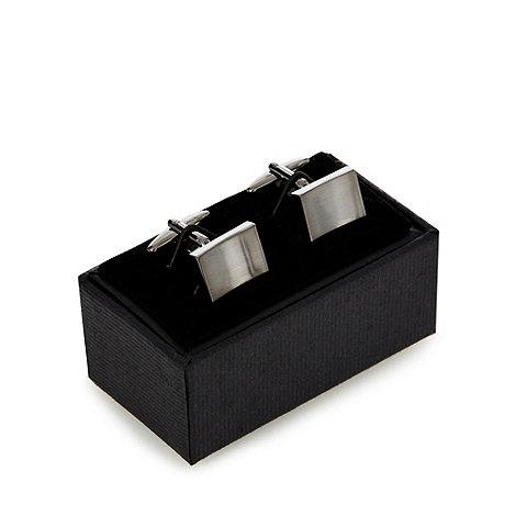 Thomas Nash - Grey gunmetal cufflinks
