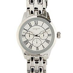Infinite - Men's stainless steel mock multi dial watch
