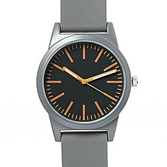 Red Herring - Men's grey simple dial watch