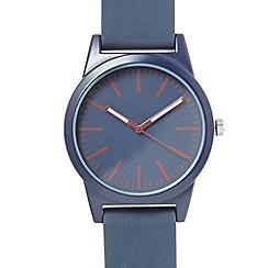 Red Herring - Men's navy simple dial watch