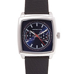 Red Herring - Men's blue rectangle dial watch