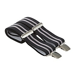 Osborne - Black twin stripe braces