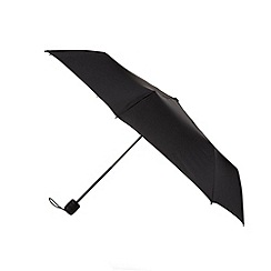 Fulton - Black compact hurricane performance umbrella