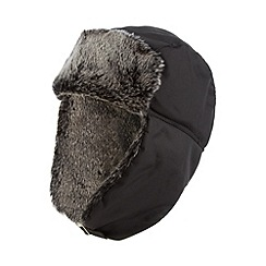 Skinnydip - Black trapper hat with built in speakers