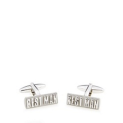 Thomas Nash - Metal 'Best Man' cufflinks