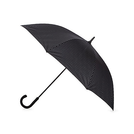 Fulton - Black large pinstripe umbrella