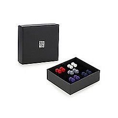 The Collection - Pack of five knot cufflinks in a gift box