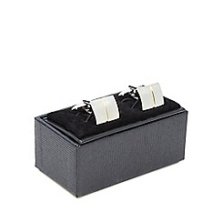 The Collection - Silver plated cufflinks set in a gift box