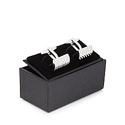The Collection - Herringbone cufflinks in a gift box
