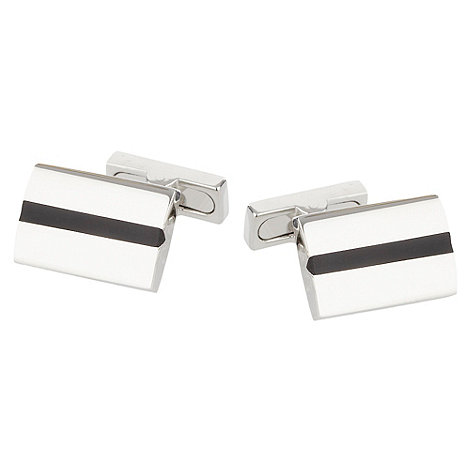 Osborne - Silver cut out cufflinks