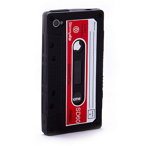Skinnydip - Black +Cassette+ iPhone 4/4S case