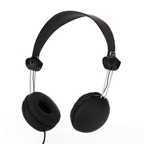 Skinnydip - Black noise isolation base headphones