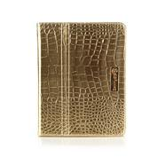Gold metallic iPad case