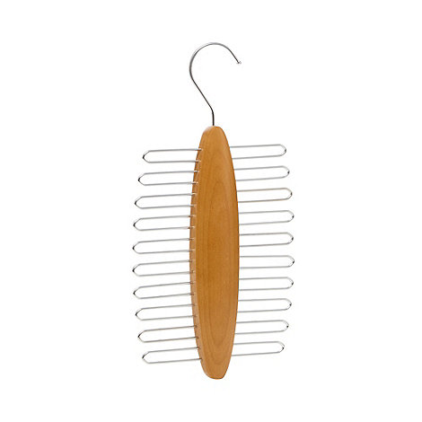 Osborne - Brown twenty hook tie hanger