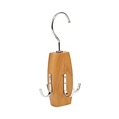 Osborne - Wooden swivel 4 hook belt hanger