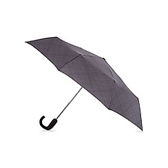 Fulton - Grey checked automatic umbrella