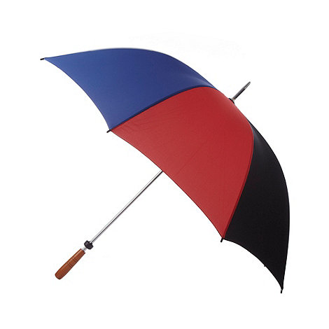 Fulton - Black striped golfer umbrella