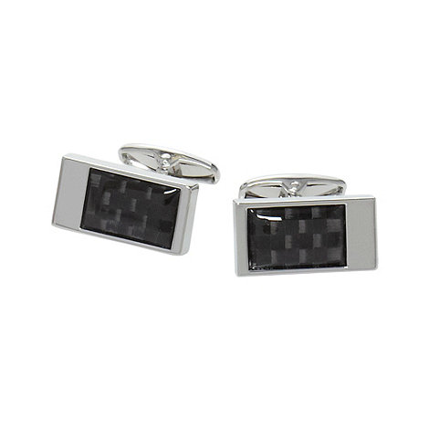 Jeff Banks - Designer carbon fibre cufflinks