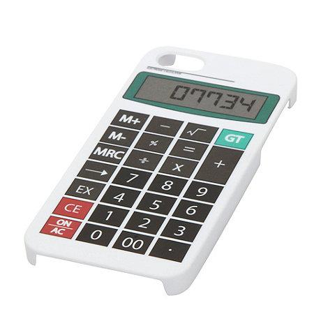 Skinnydip - White calculator iPhone 5 case and screen protector