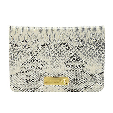Skinnydip - Grey faux snakeskin iPad Mini case