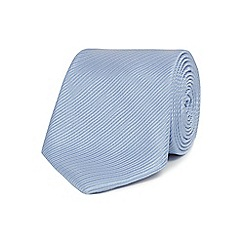 Jeff Banks - Light blue silk striped tie
