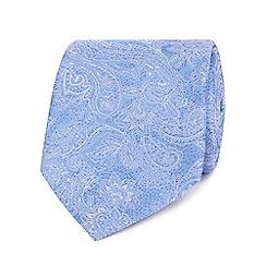 Jeff Banks - Blue paisley silk tie