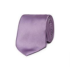 Black Tie - Lilac textured tie