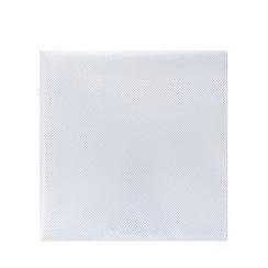 Black Tie - White textured pocket square