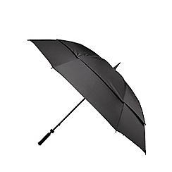 Fulton - Black 'Stormshield' umbrella