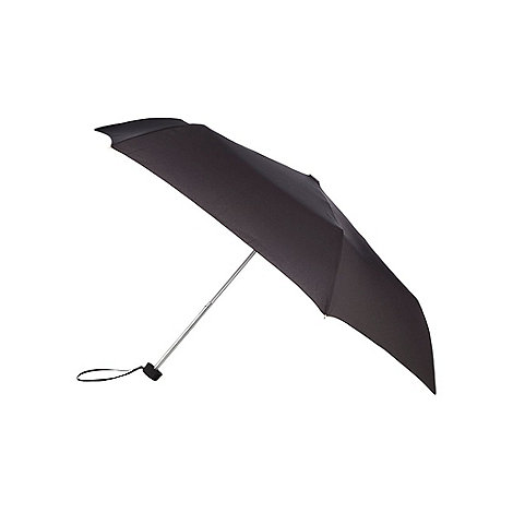 Fulton - Black wind resistant framed umbrella