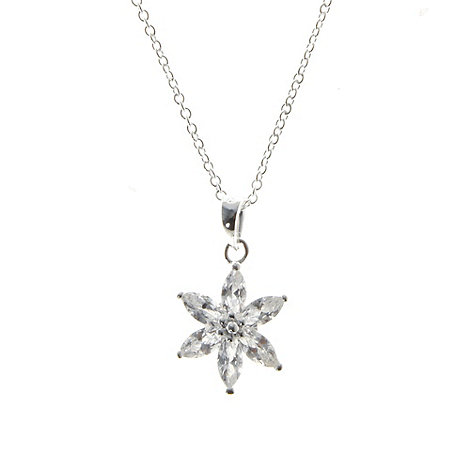 Van Peterson 925 - Sterling silver +North Star+ pendant necklace